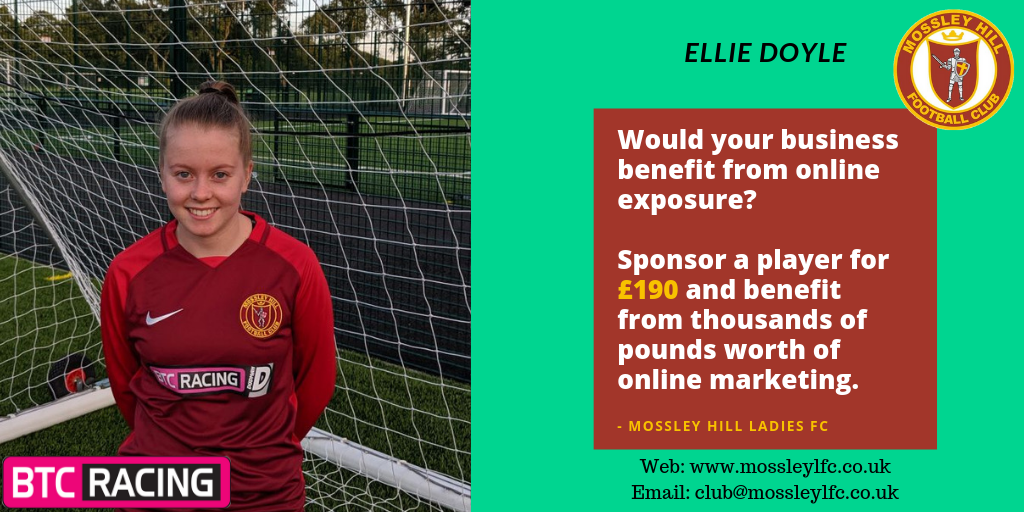 Ellie Doyle Player Sponsor