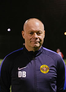 Derek Booth 1st Team Manager