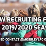 Recruiting 2019-20 Womens Football Mossley Hill LFC