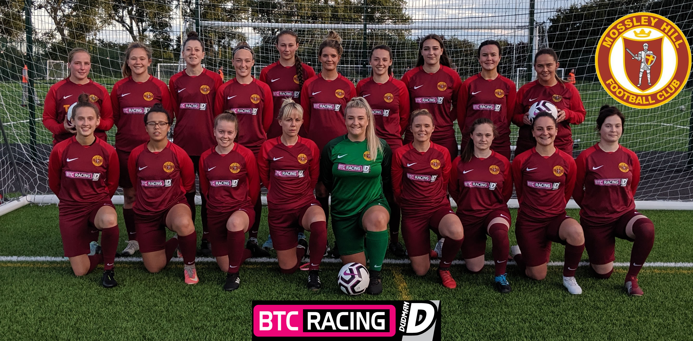 Mossley Hill Ladies Sponsored by BTC Racing