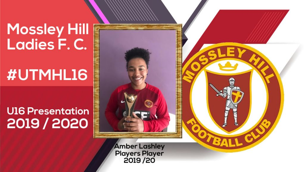 Amber Lashley - Players Player 2019-20