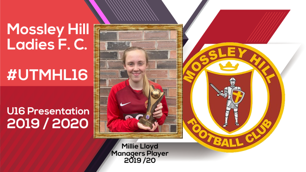 Millie Lloyd - Managers Player 2019-20