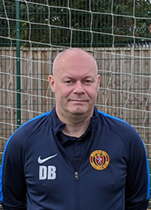 Derek Booth Mossley Hill Manager