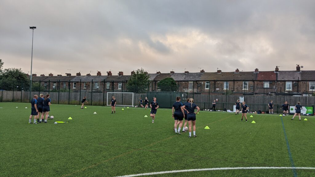 Training with Mossley Hill